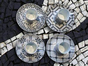porcelana Vista Alegre Calcada Portuguesa